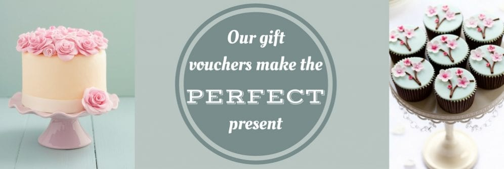 cake decorating classes gift voucher